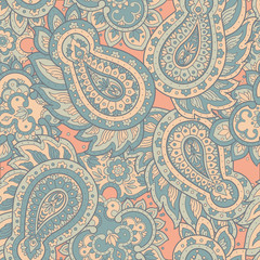 Paisley Floral oriental ethnic Pattern