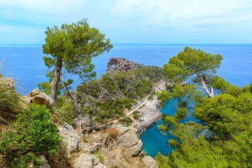 Sa Foradada Cape, North coast of Majorca, Spain