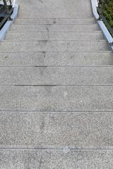 Stone stair.