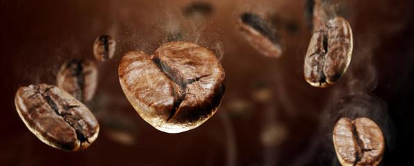 Poster Cafe coffee splash