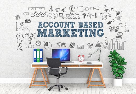 Account based Marketing  / Office / Wall / Symbol