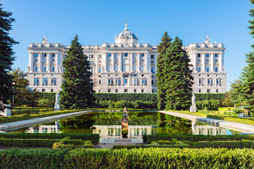 Wall Murals Madrid Royal Palace in Madrid
