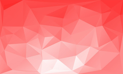 triangles abstract background - red white