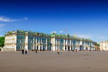Hermitage palace in Saint Petersburg, Russia.