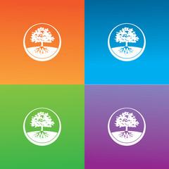 tree symbol logo