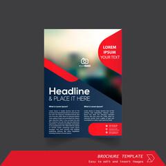 Brochure / Annual Report / Cover design vector