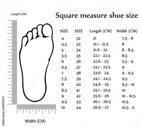 How To Measure Shoe Size Uk Cm