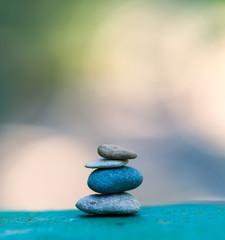 stone tower. zen stones