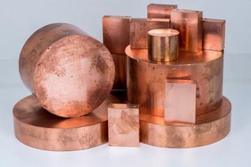 Kupfer, Kupferprofile und Kupferschrott