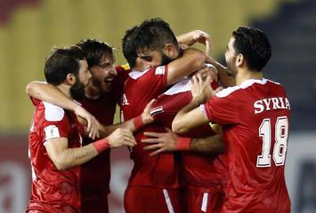 Football Soccer - China v Syria - World Cup Group A Qualifier - Hang Jebat Stadium, Malacca City, Malaysia