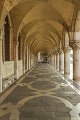 The Doges' Palace. Venice. Italy