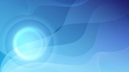 blue focused swooshes