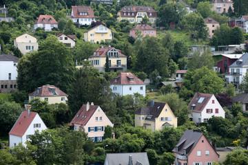 Wohnhäuser im Villenviertel