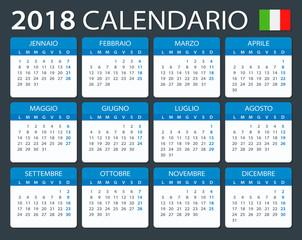 Calendar 2018 - Italian Version