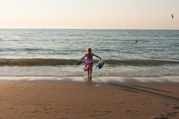 kinder am fkk strand