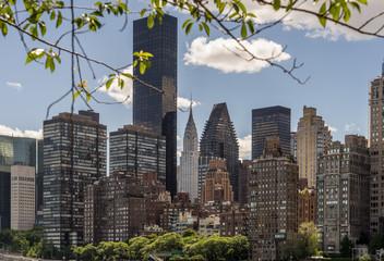 View of East Side Manhattan Skyline