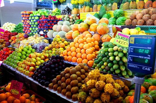 Paloquemao Market, Bogota, Colombia