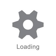 gear loading icon