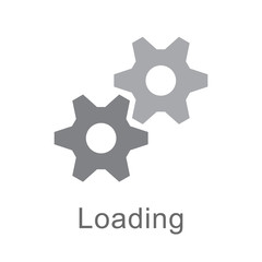 gears loading icon