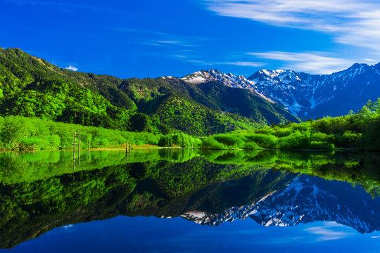 【長野県】上高地の大正池
