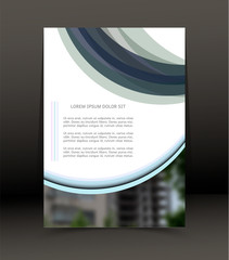 Abstract background for brochure, cover. Template for the poster. Vector.
