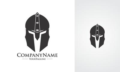 spartan helmet flat icon