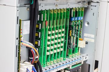 phone switch system, telephone exchange system with slots  in branch office