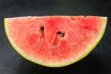 Portion of Fresh Watermelon (selective focus)