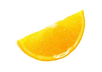 Single orange wedge