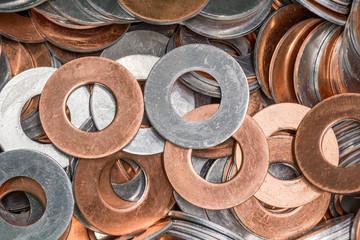 Aluminium-Kupfer Beilagscheibe