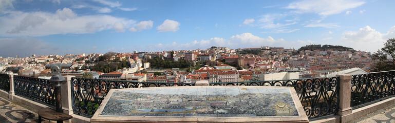 Lisbon Lissabon Panorama Alcantara