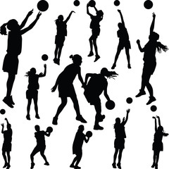 basketball woman player