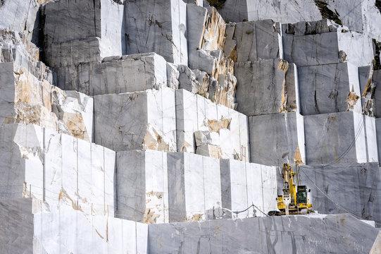 Marble quarry in Carrara. Italy