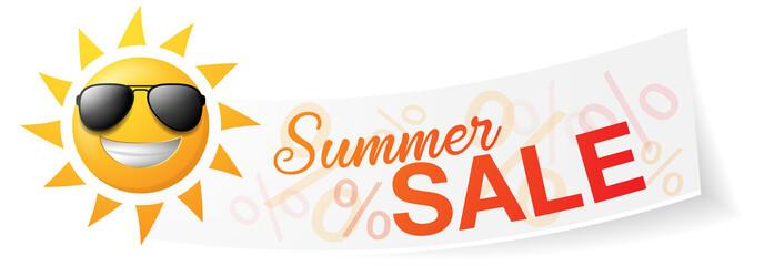 Summer Sale Sonne Banner