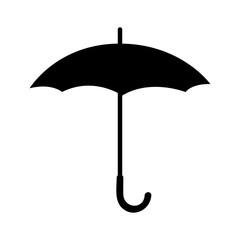 Umbrella Icon isolated illustration on white background