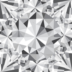 diamond reflection abstract background vector