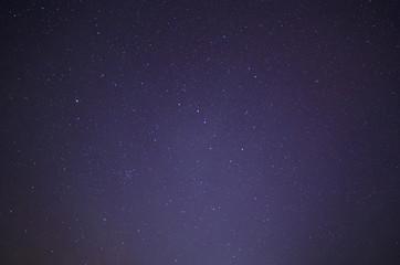 starry night sky with Ursa Major and Ursa Minor constellations