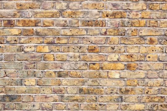 London Yellow brick texture