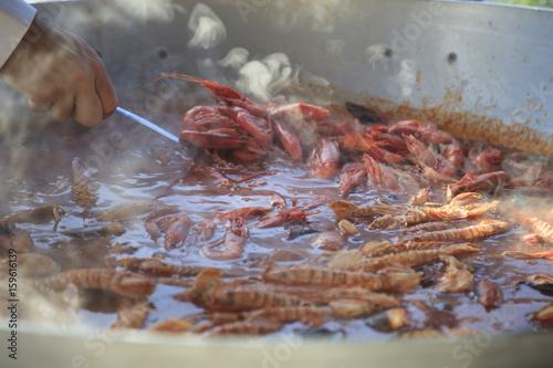 Italiatoscana Livorno Zuppa Di Pesce O Cacciucco Stock Photo