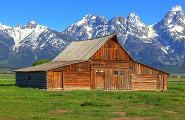 Moulton Barn in Wyoming