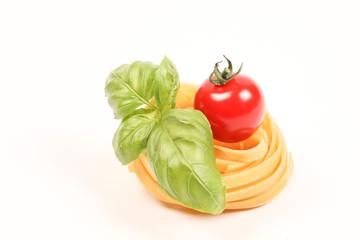 pâtes, tomate, basolic