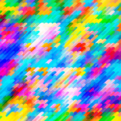 Abstract gradient art geometric background with vibrant color tone.
