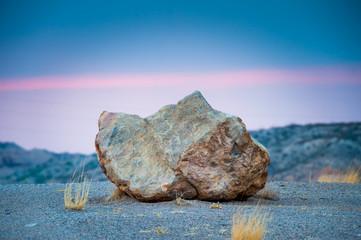 Desert Rock Desert Sunset Wall mural