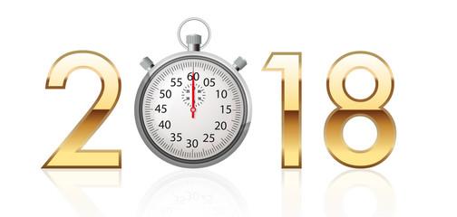 2018 - chrono - sport - performance - vœux - présentation - challenge