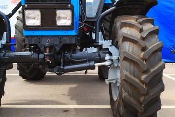Tractor close-up