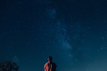 Stargazing Girl