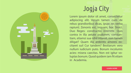 Jogja City of Indonesia Conceptual Design