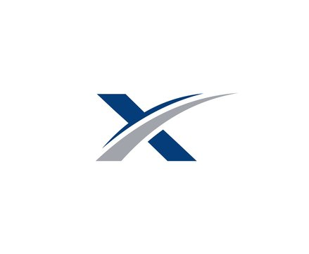 X logo letter