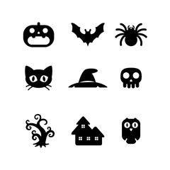 icon halloween, vector