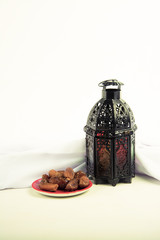 Lantern style Arab or Morocco with date palm
